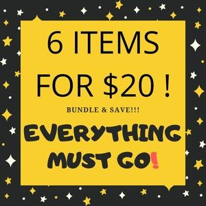 Other - 6 items for $20!!